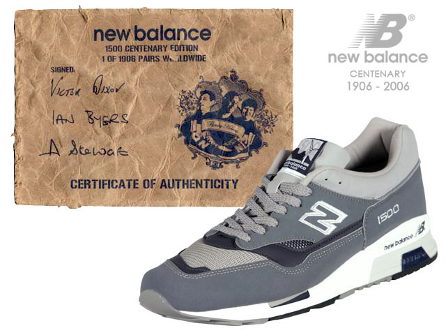 New Balance Centenary M1500 Ian Byers