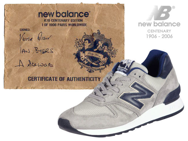 New Balance Centenary M670 Victor Dixon