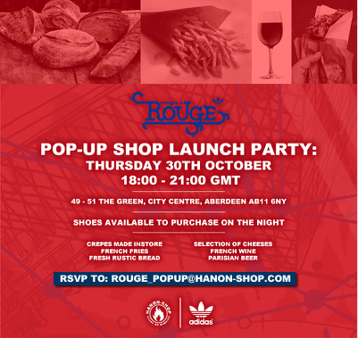Adidas Originals Rouge event @ hanon shop