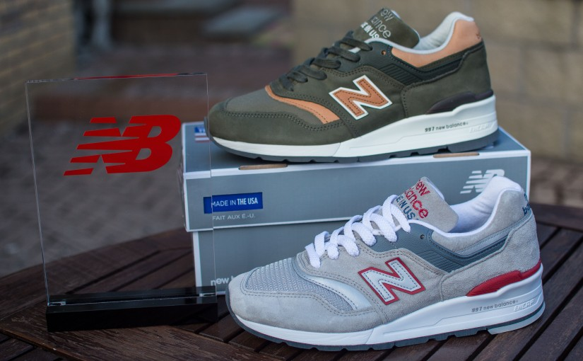 New Balance 997CGR and 997DCS