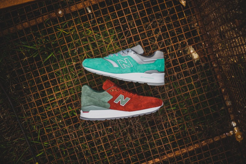 """New Balance x Concepts """"City Rivalry""""Pack"""