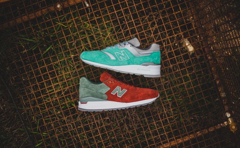 "New Balance x Concepts ""City Rivalry"" Pack"