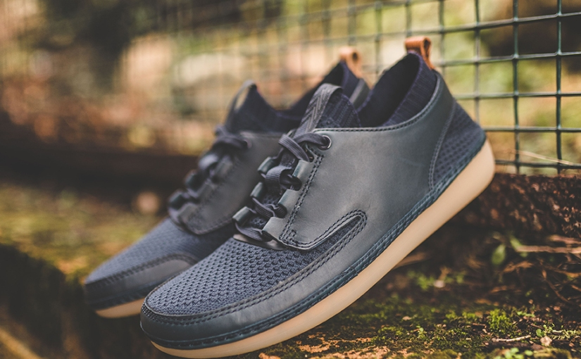 "Clarks Nature IV ""Navy Combi"""